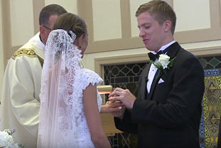 Vows, St Paul Catholic Church