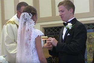 Vows, St Paul Catholic Church